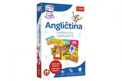 Malý objaviteľ Angličtina pre predškolákov spoločenská náučná hra v krabici 19x29x4cm RM_89001989