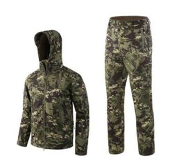 Унисекс куртка с брюками OKL4 - Размер 6