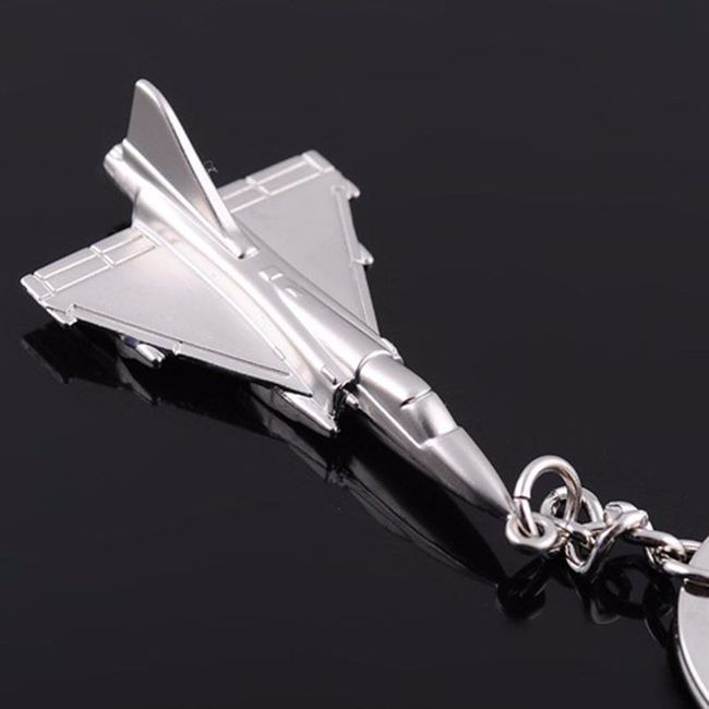 Klíčenka ve tvaru letadla 1