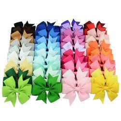 Set barevných mašliček se skřipcem - 40 kusů
