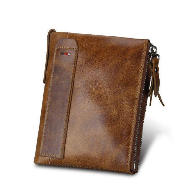 Dvouzipová pánská peněženka - 5 barev 1