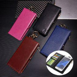 Multifunkční pouzdro s peněženkou pro Samsung Galaxy S7 Edge