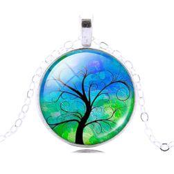 Vintage ogrlica s čarobnim drvetom