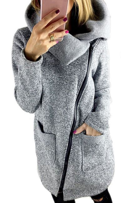 Mikina s límcem a velkými kapsami - velikost č. 6 1