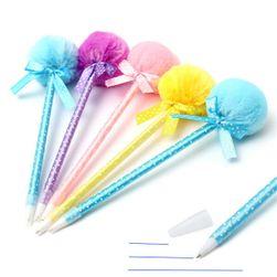Csomag tollak puha bundával - 5 darab