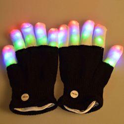 Unisex blikající rukavice