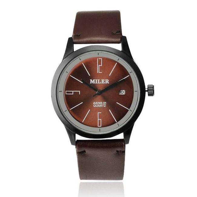 Jednoduché náramkové hodinky pro muže - 5 barev 1