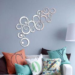 Krugovi - zidna nalepnica sa efektom ogledala