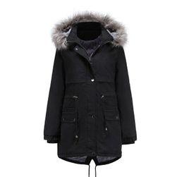 Kürklü bayan ceket Gracia