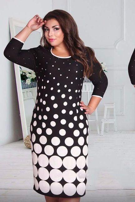 Damska sukienka z długimi rękawami Voletta 1