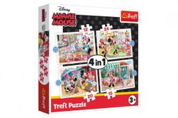 4in1 Puzzle Minnie with Disney Friends RM_89034355