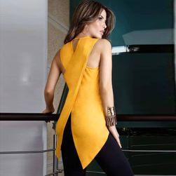 Damska bluzka z ciekawym rozwiązaniem na plecach - 5 kolorów