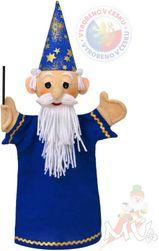 Punčka - čarovnik, modre barve SR_DS12403713