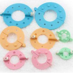 Комплект подложки за изработка на помпони