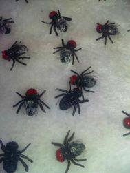 Изкуствени пластмасови мухи - 10 бр