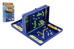 Hra lodě Námořní bitva společenská hra v krabici 19x29x3,5cm RM_26100308