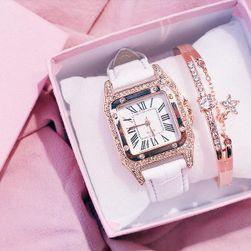 Женские часы и браслет Ellia Bílá