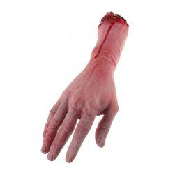 Rekvizita na Halloween - uříznutá ruka