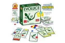 Ewolucja - O pochodzeniu gatunku gra planszowa w pudełku 19x19x5cm (Gra roku 2011)  RM_29100001