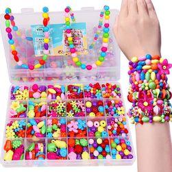 Set perli za izradu nakita za devojčice - razne varijante