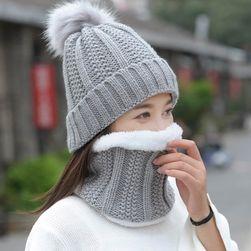 Ženska zimska kapa sa šalom - 8 varijanti