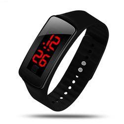 Digitální silikonové hodinky pro sportovní nadšence