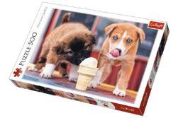 Puzzle Câini cu înghețată 500 piese, 48x34cm în de cutie 40x27x4,5cm RM_89137272