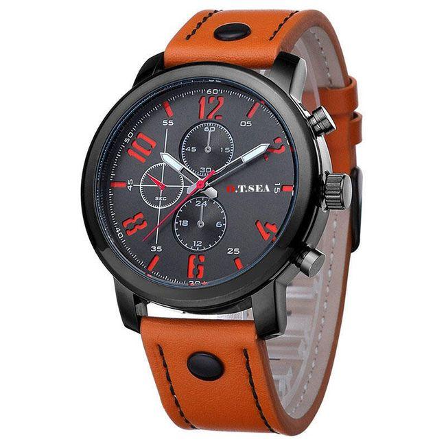 Originální pánské hodinky - Oranžová 1