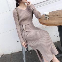Ženska haljina sa dugačkim rukavima Kollien