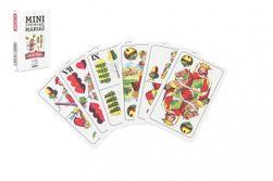 Mariáš MINI dvouhlavý společenská hra karty 32ks v papírové krabičce 5x7cm RM_10401648
