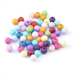 Kolorowe koraliki - 300 sztuk
