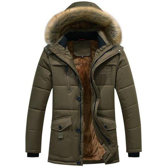 Férfi téli kabát Nathanael