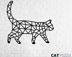 Puzzle perete Pisică RA_24069