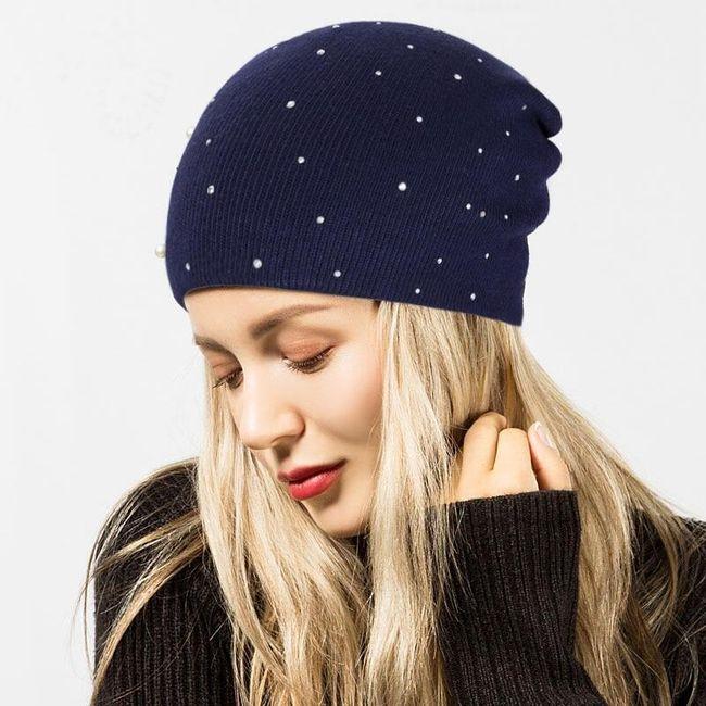 Damska zimowa czapka ZC5 1