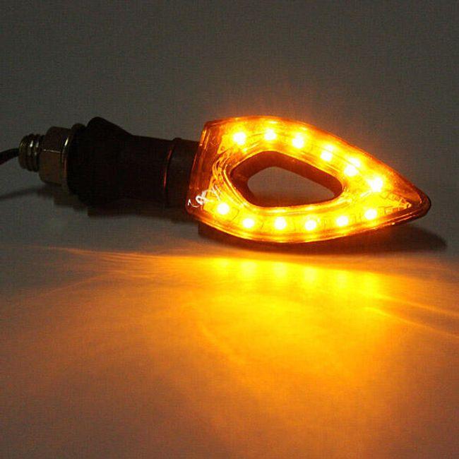 LED blinkry na motocykl 2ks - 20 LED 1