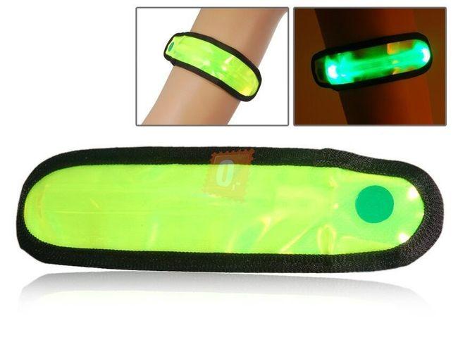Reflexivní doplněk - LED náramek 1