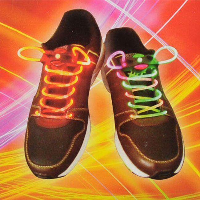Świecące sznurowadła - 7 kolorów 1