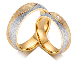 Elegáns esküvői  gyűrű