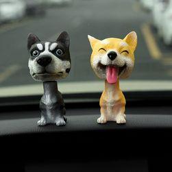 Кивающая собака для салона автомобиля KPA498