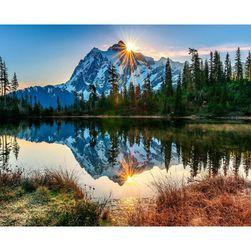 Slikanje brojevima - planinsko jezero