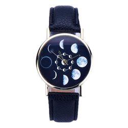 Ceas unisex cu fazele lunii - 5 variante