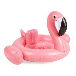 Felfújható flamingó a vízben gyerekeknek