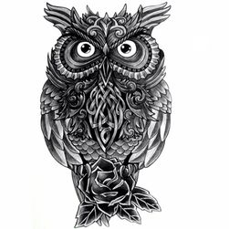 Переводная татуировка TT03