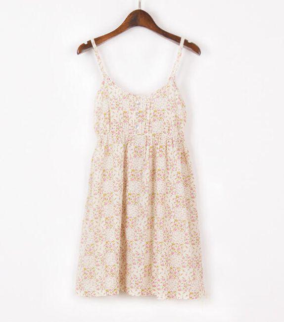Dámské letní šaty - květinové 1