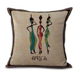Povlak na polštář - africké motivy