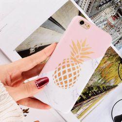 Kryt na iPhone s ananasem či jahodou