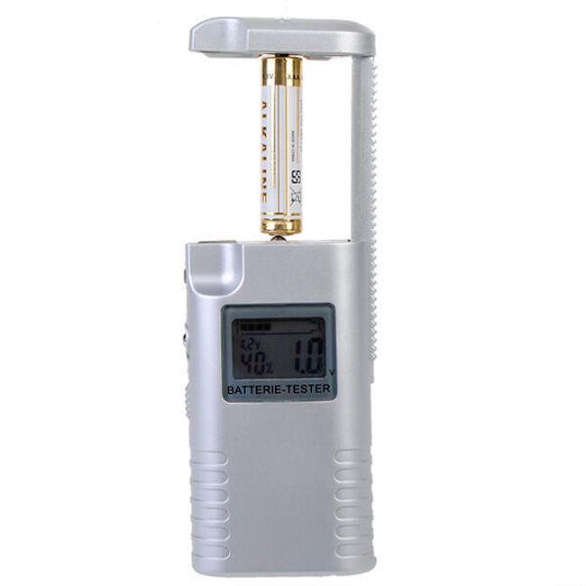 Univerzális akkumulátor tesztelő LED kijelzővel 1