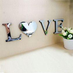 Decorațiune oglindă cu scris LOVE și HOME