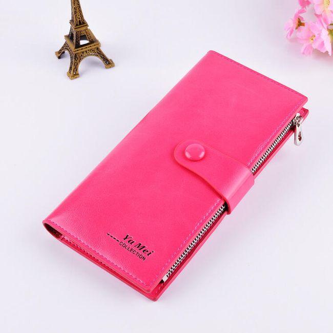 Dámská peněženka polodlouhá - 9 barev 1