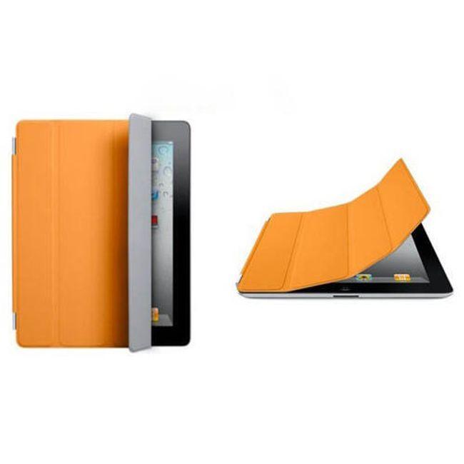 Magnetický chytrý kryt pro iPad 2 - oranžový 1